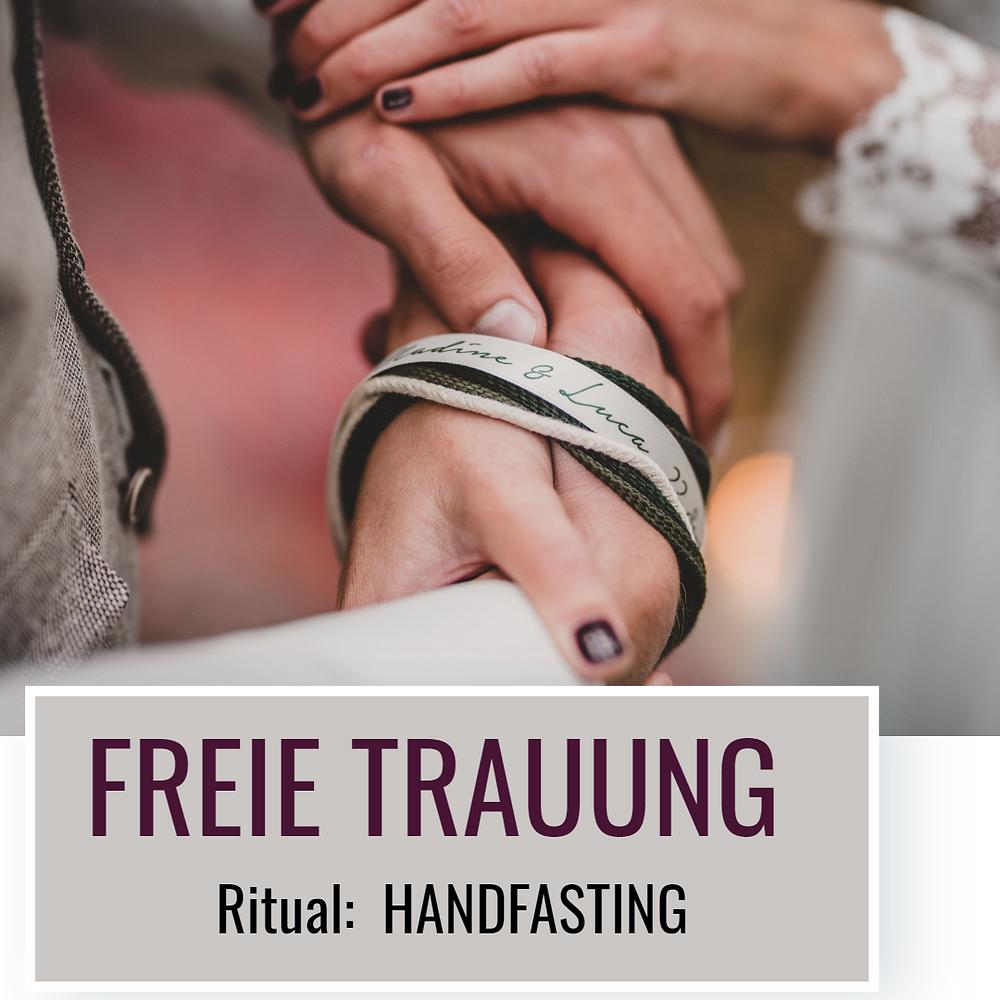 Freie Trauung Ritual symbolische Handlung Handfasting_Stefanie Burger