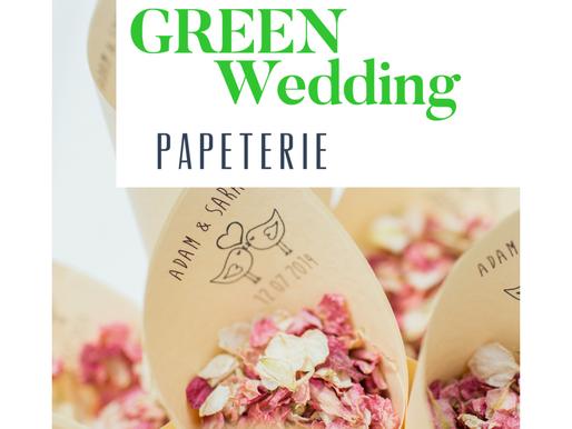 #5 nachhaltige Hochzeitspapeterie