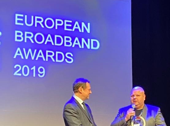 RUNE wins the EU Broadband Award 2019!