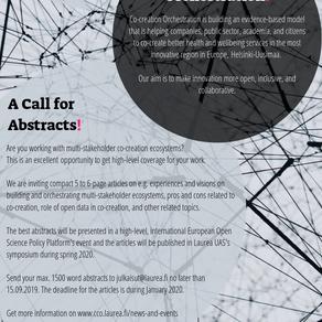 A Call for Articles | Laurea hakee kirjoittajia yhteiskehittäjäjulkaisuun