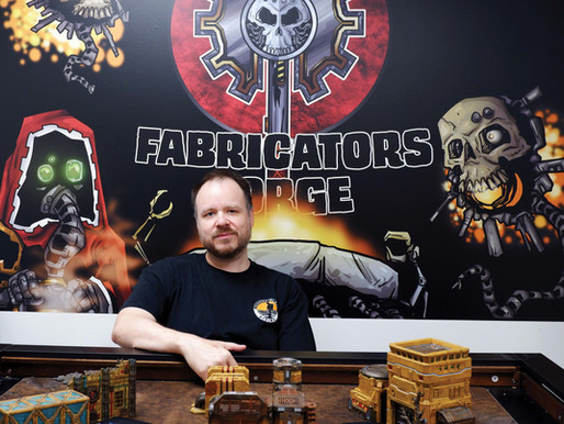 Fabricator's Forge: A gamer's gathering place