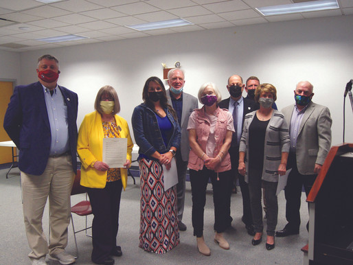 Officials celebrate library pandemic response