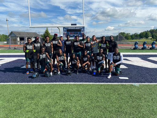 Sto-Rox earn first place in passing league competition