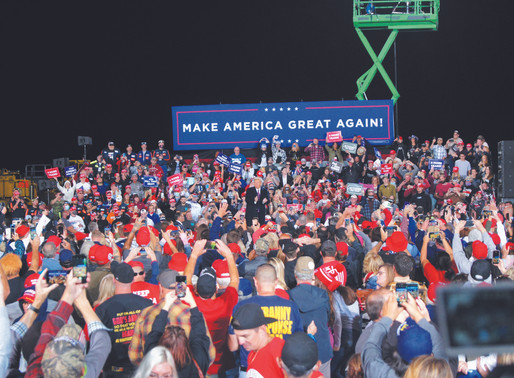 Trump holds local rally, calls democratic party 'extremists'