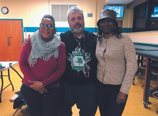 School board member volunteers time at church to help children