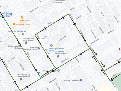 Two urban walking routes get council go-ahead