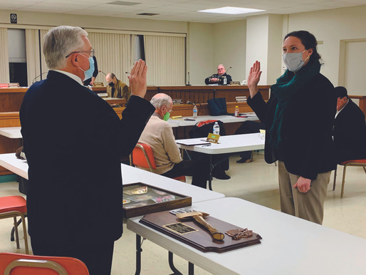 Former fire chief fills council vacancy, vice president seat filled