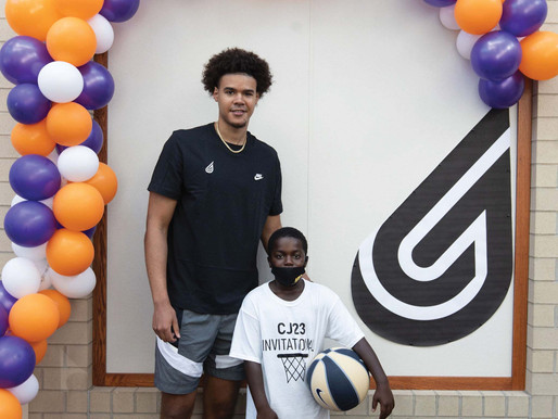 Cam Johnson gives back to hometown