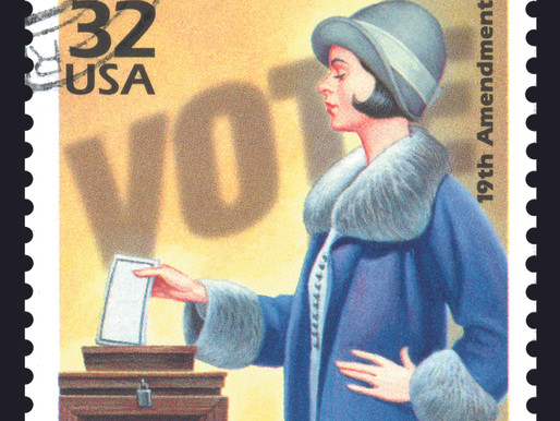 Women's suffrage: Passage by House in 1918 paves way for constitutional amendment