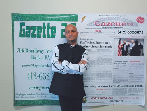 Gazette 2.0 founder ends reign as CEO