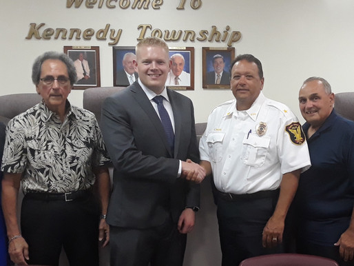Kennedy hires one officer, while still seeking another