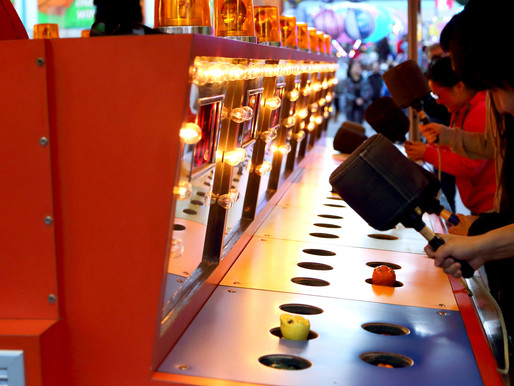 Scoring a Whack-A-Mole win, easier than getting a vaccine