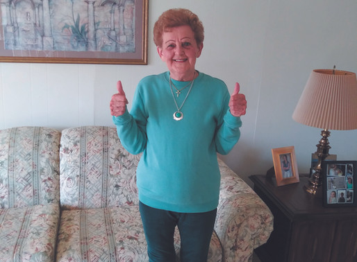 A 96-year-old woman from McKees Rocks bowls a 'no-tap 300'
