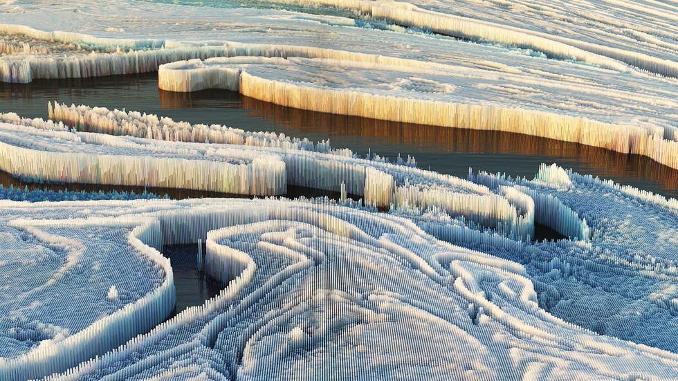 3D Glacier 02