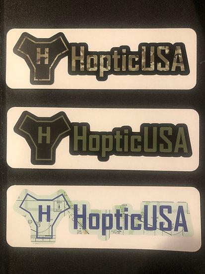 """HopticUSA 6"""" Decals"""
