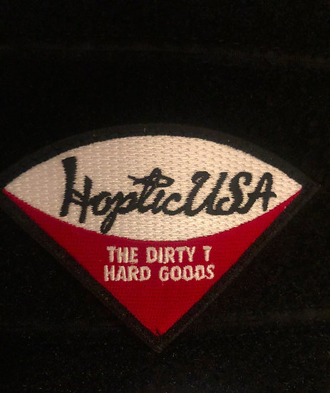 Hoptic Hard Goods Dirty T Patch