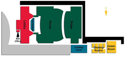 Zionsville PAC Venue Map