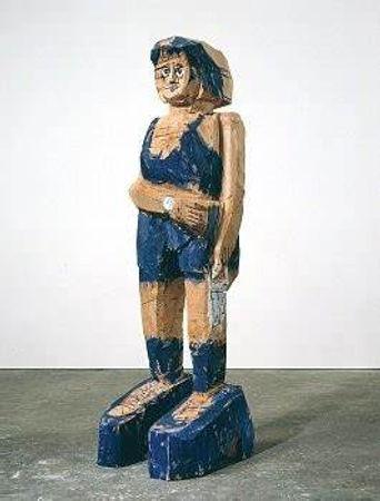 georg baselitz sculpture.jfif