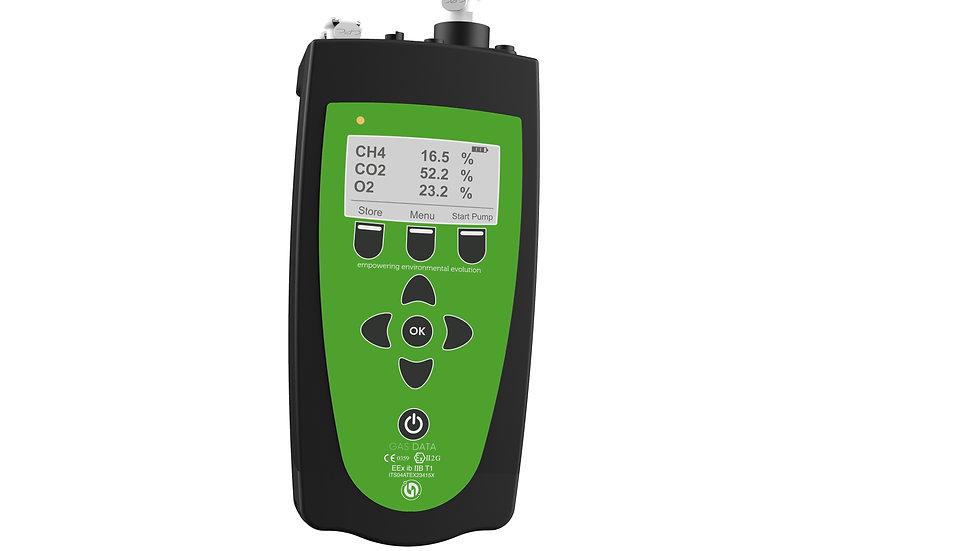 GFM 406 - Multichannel Portable Gas Analyser - ATEX accredited