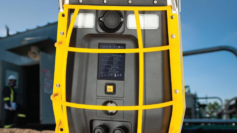 Honeywell BW Rigrat 6 Gas Wireless Area Monitor