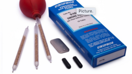 UNIPHOS  SMOKE & SILICA GEL TUBE Squeeze Bulb and Tip breaker kit