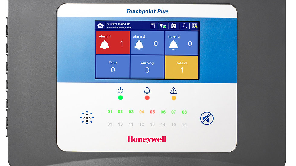 TouchPoint Plus 2-16 Channel Control Panel