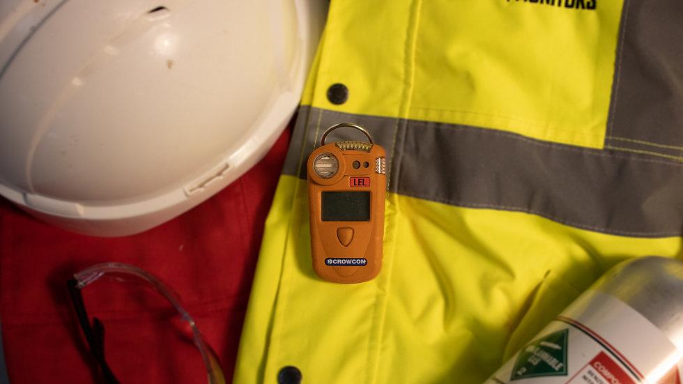 Crowcon GasMan Single Gas Personal Monitor (CO2, O2 and Toxics) - No Charger