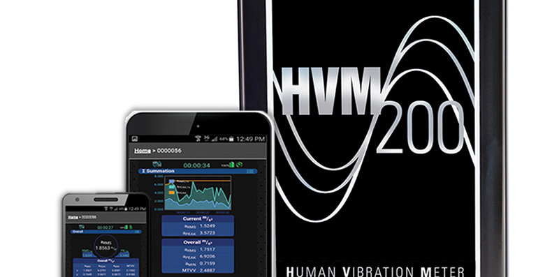 HVM200 Hand Arm and/ or Whole Body Vibration Meter
