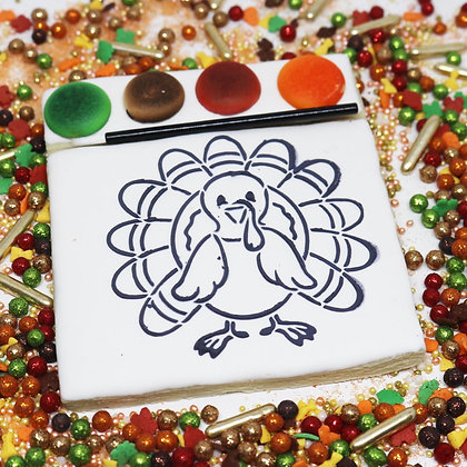 Paint Your Own Sugar Cookie  *Classic Turkey*