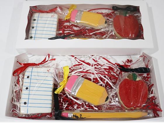 Teachers Appreciation Sugar Cookies