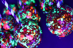 Glow in the Dark Candy Apples