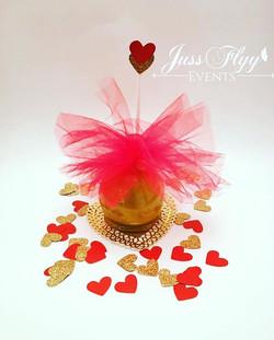 Valentine's Candy Apple