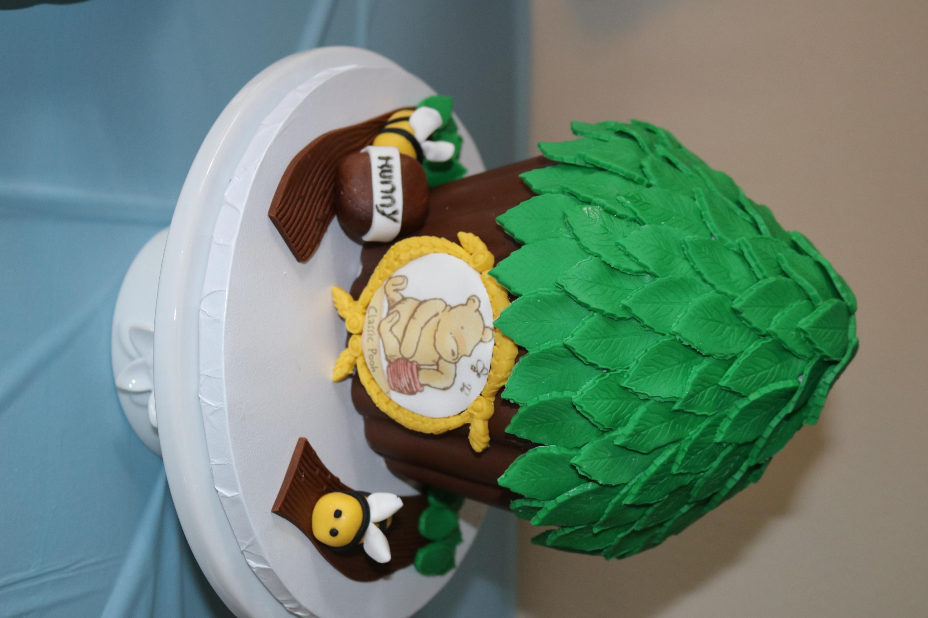 Classic Winnie the Pooh Giant Cupcake