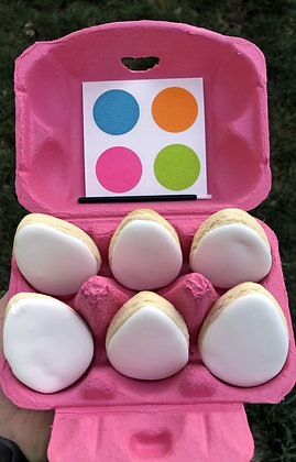 Paint Your Own Easter Egg Cookie Kit