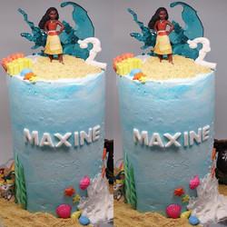 Moana Tall Cake