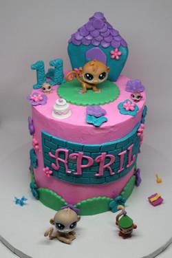 My Little Pets Custom Cake