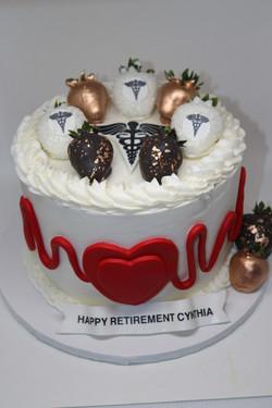 Nurse Custom Cake