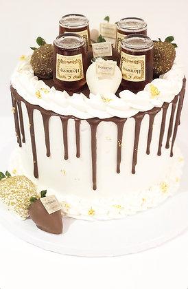 Hennessey Drip Cake