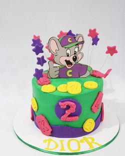 Chuck E Cheese Cake