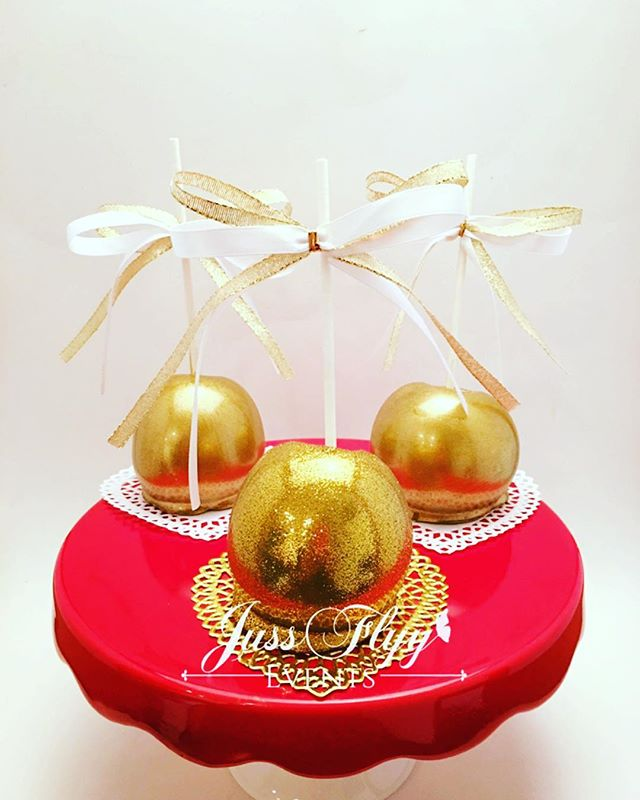 Gold Candy Apples