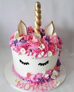 Garden Unicorn Cake
