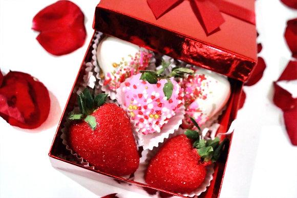 Basic Chocolate Strawberries