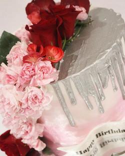 Flower Drip Cake