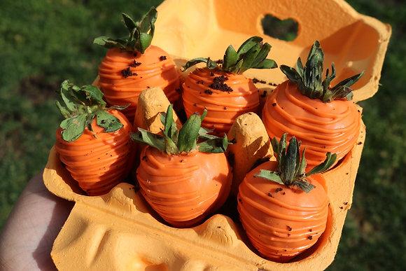Carrot Patch Strawberry Carton