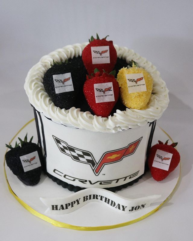Corvette Drip Cake