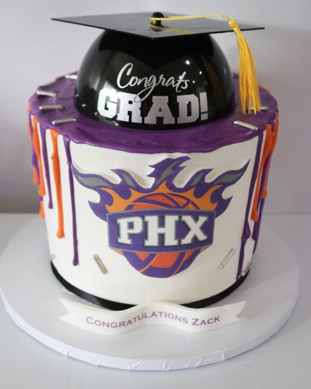 Phoneix Graduation Cake