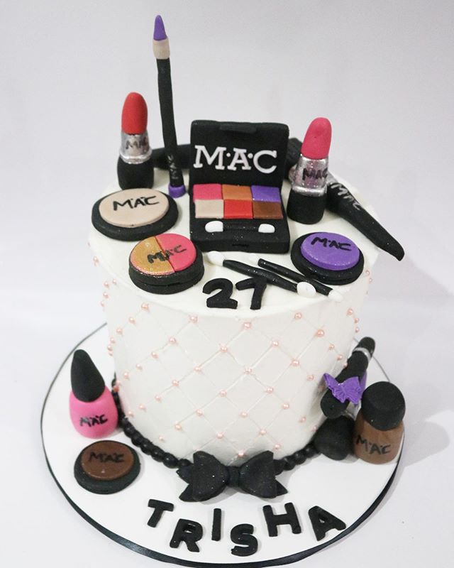 Custom Mac Makeup Cake