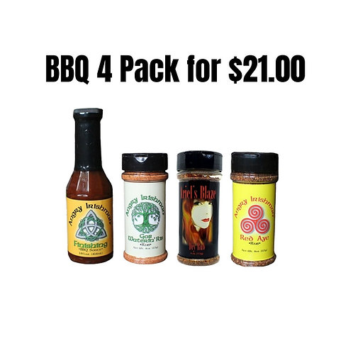 BBQ 4 Pack