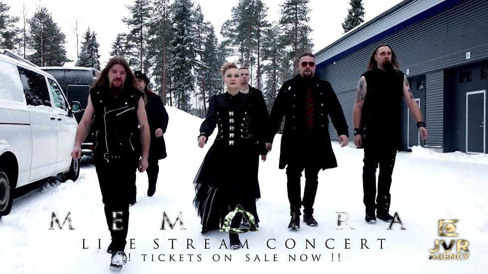 Memoira Livestream 30.01.2021 Full Concert + Bonus Material
