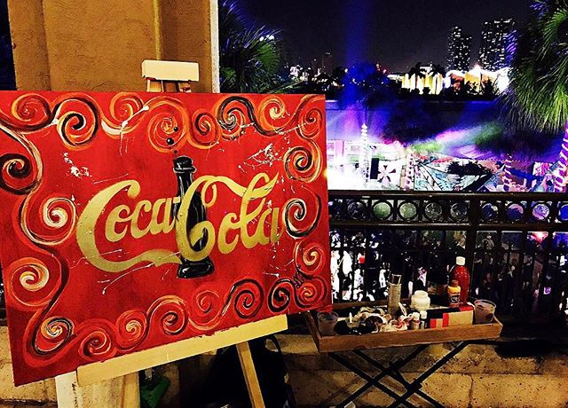 It was an honor to be part of this years ✨Carnaval Gala at Jungle Island!✨ Thank you _cocacola & _tp